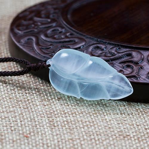 Natural aquamarine piezas talladas en forma de hojas -