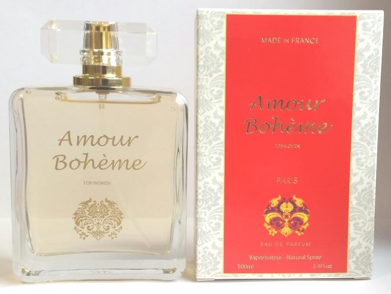 Parfum Amour bohème - Eau de Parfum pour femme, Floral - Tubereuse, fabrication française, Edp 100 ml