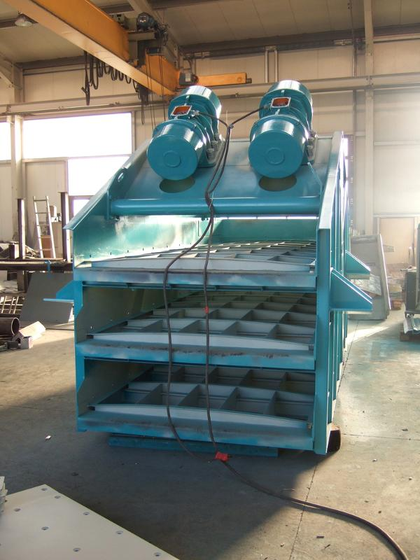 Vibrating screens- Screening, classifying, dewatering - Screening technology