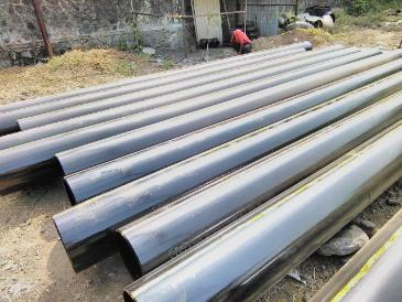 X80 PIPE IN ROMANIA - Steel Pipe