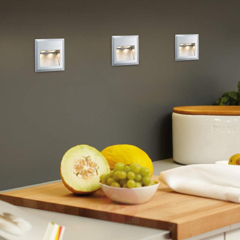 Special Line LED recessed wall light, 2-bulb - Recessed Spotlights