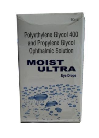 Polyethylene Glycol and Propylene Glycol Opthalmic Solution