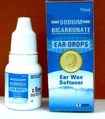 Sodium Bicarbonate ear drops - Sodium Bicarbonate ear drops 5% w/v