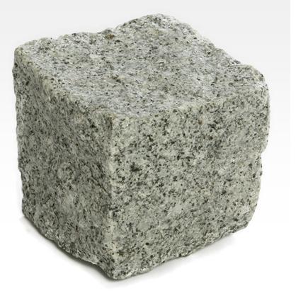 Pavés de Granit Gris - Pavé granit pour pavage. Fini texture rustique.