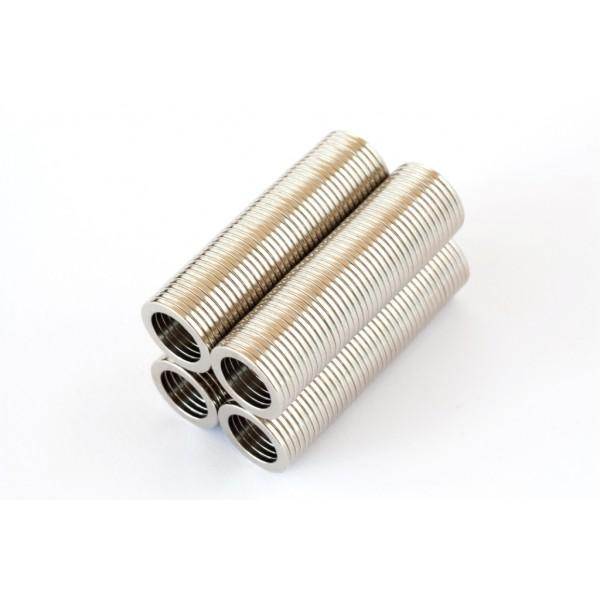 Neodymium ring magnet, 13/9mm, height 1mm, N40,... - null