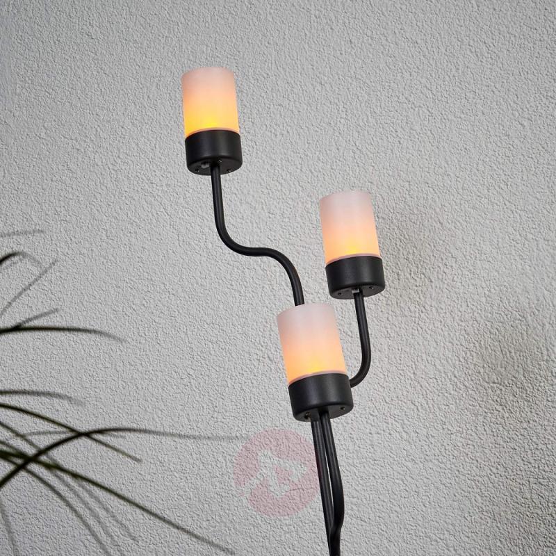 Solar candleholder Laska with LEDs - outdoor-led-lights