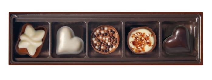 EMOTI Assorted Chocolates, Gift packed 65g. SKU: 014524b -