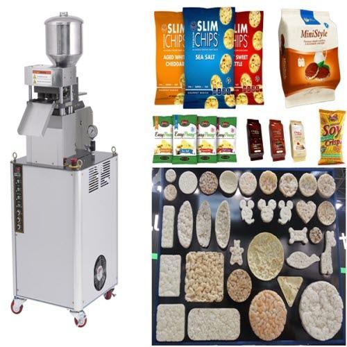 Galletas de arroz máquina, Tortitas de arroz máquina - Tortitas de maíz máquina