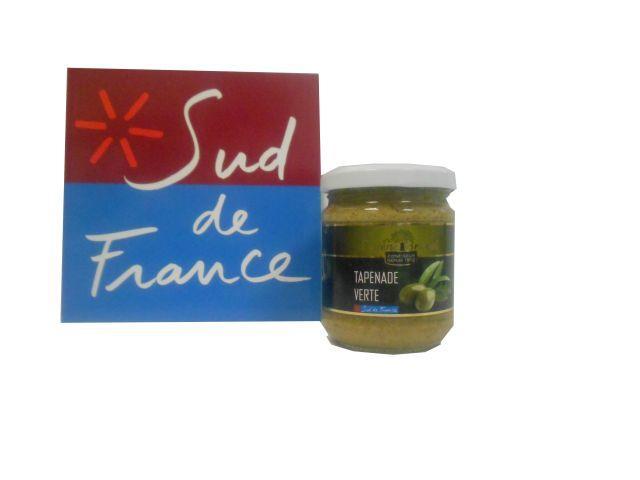 TAPENADE VERTE / GREEN TAPENADE 190G - Produits oléicoles