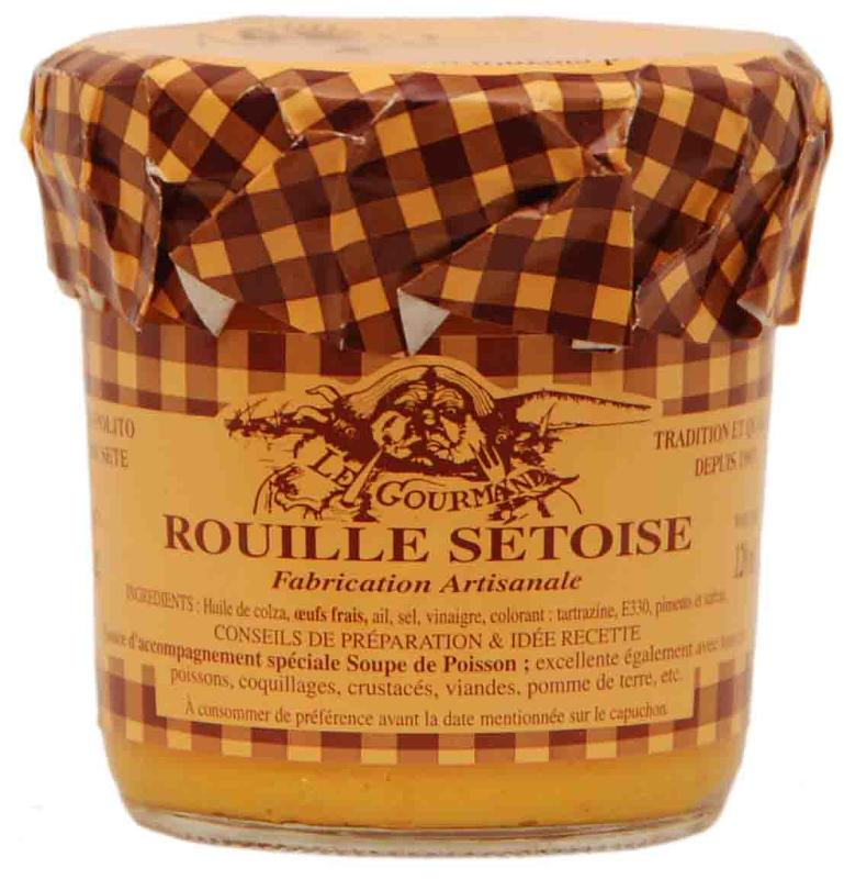 Rouille Sétoise aux oeufs frais 12cl - Epicerie salée