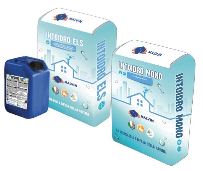 Impermeabilizzanti - Intoidro ELS/Intoidro Mono -