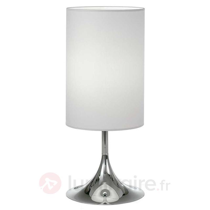 Lampe à poser Flute 55 cm - Lampes à poser en tissu