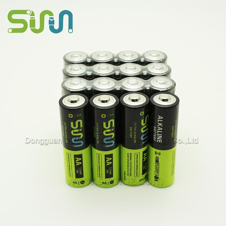 AA alkaline battery, 2500mAh, 5#, R6 - AA Size 5 alkaline disposable battery with 2500mAh is a RC product battery