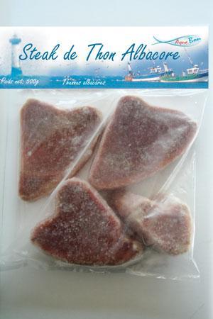 Steak de thon Albacore sauvage
