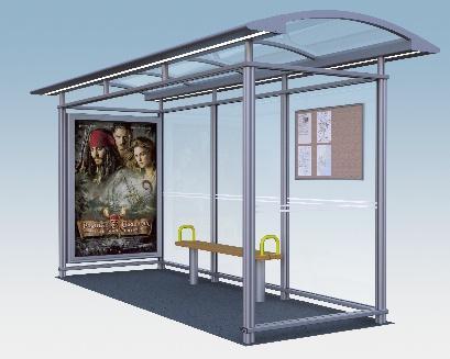 Buswartehalle City 90 exclusiv