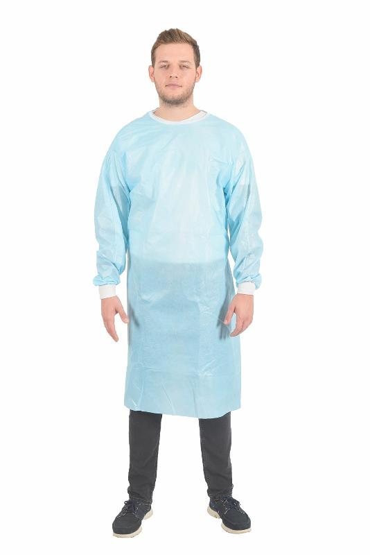 Green Surgical Gown - MEDICAL TEXTILE