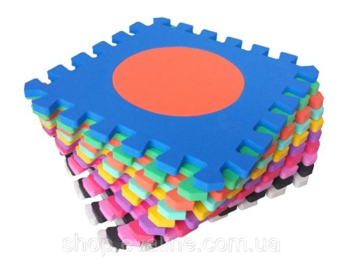 """Soft game floor """"Logic"""" - (30*30*1 cm)"""