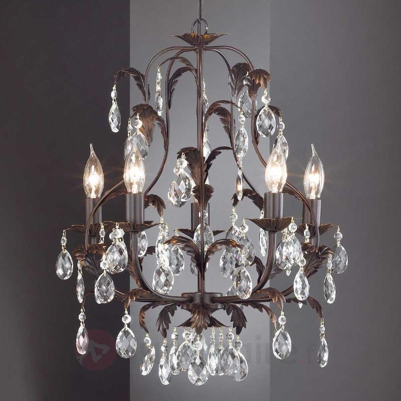 Lustre CATANIA à 5 lampes - Lustres rustiques
