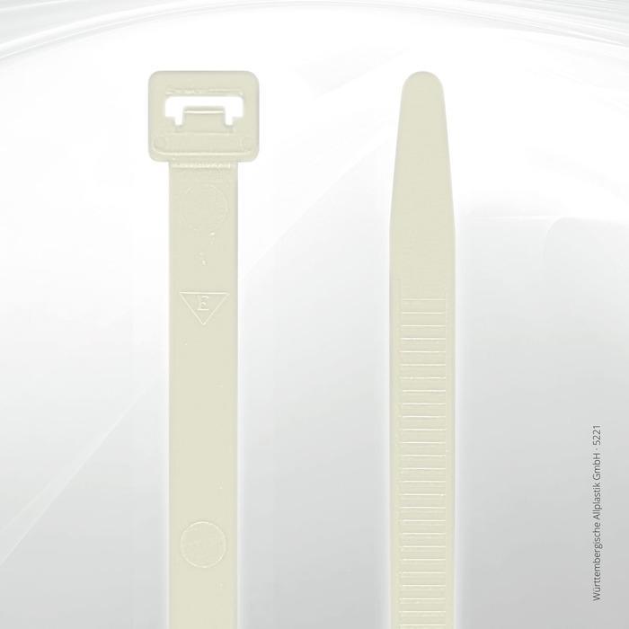 Allplastik-Kabelbinder® cable ties, standard - 5221 (natural)