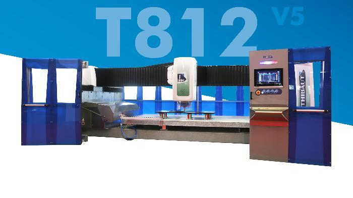 T812 V5 - Centre d'usinage Thibaut T812 V5