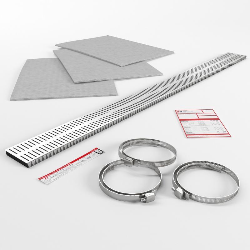 Abschottungssysteme Systemkomponenten - ZZ-Manschette Universal Ø 160 mm
