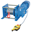Electric Rope Winches PFW and PORTY - Electric Rope Winch PORTY