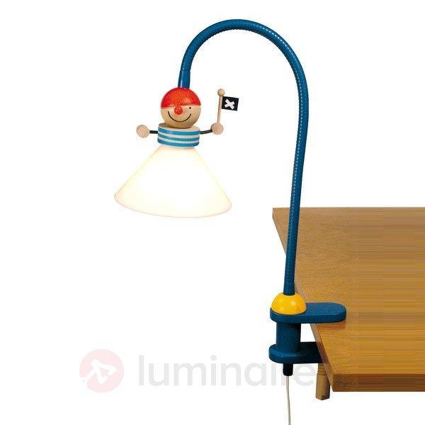 Lampe à pince Pirate - Chambre d'enfant