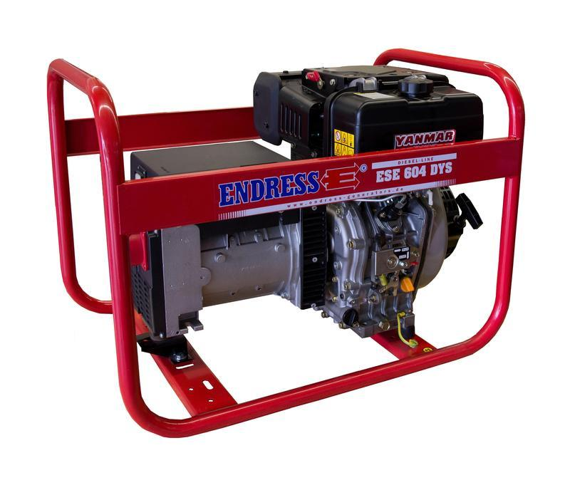 POWER GENERATOR for Professional users - ESE 604 DYS Diesel