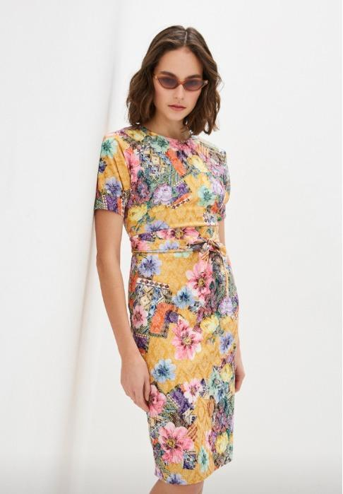 "Women's dress  - Women's dress ""ANKARA""  (PL 4816-3214)"