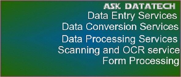 Outsource Scanning Service - Scanning of Banking and Survey forms