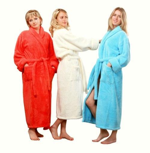 fleece dressing gowns, Plush Microfiber Robes, fleece dressing gowns ...