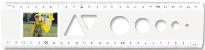 Lineale für Bild- und Werbediastreifen - Das Bildlineal Weiß