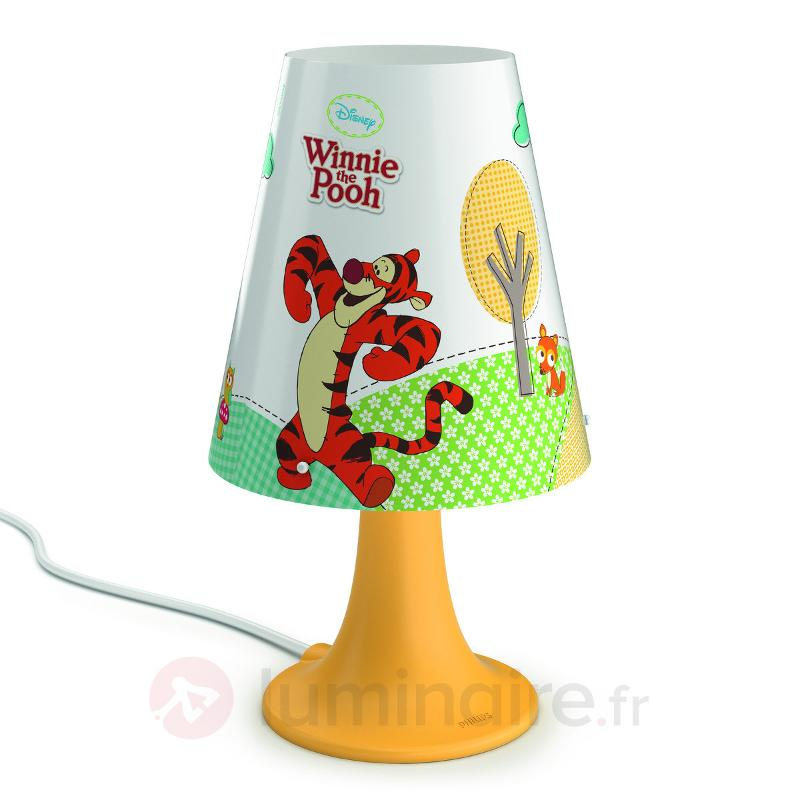 Adorable lampe de chevet LED Winnie l'ourson - Chambre d'enfant
