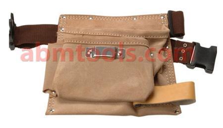 Leather Tool Apron Single Pocket -