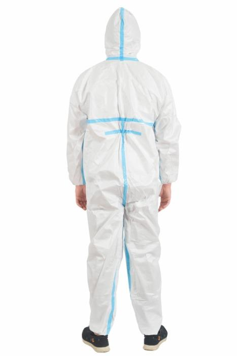Protective Coverall Type: 3/4 - Type: 3/4 Protective Coverall