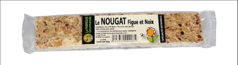 La tarte nougat Figues/Noix - Épicerie sucrée