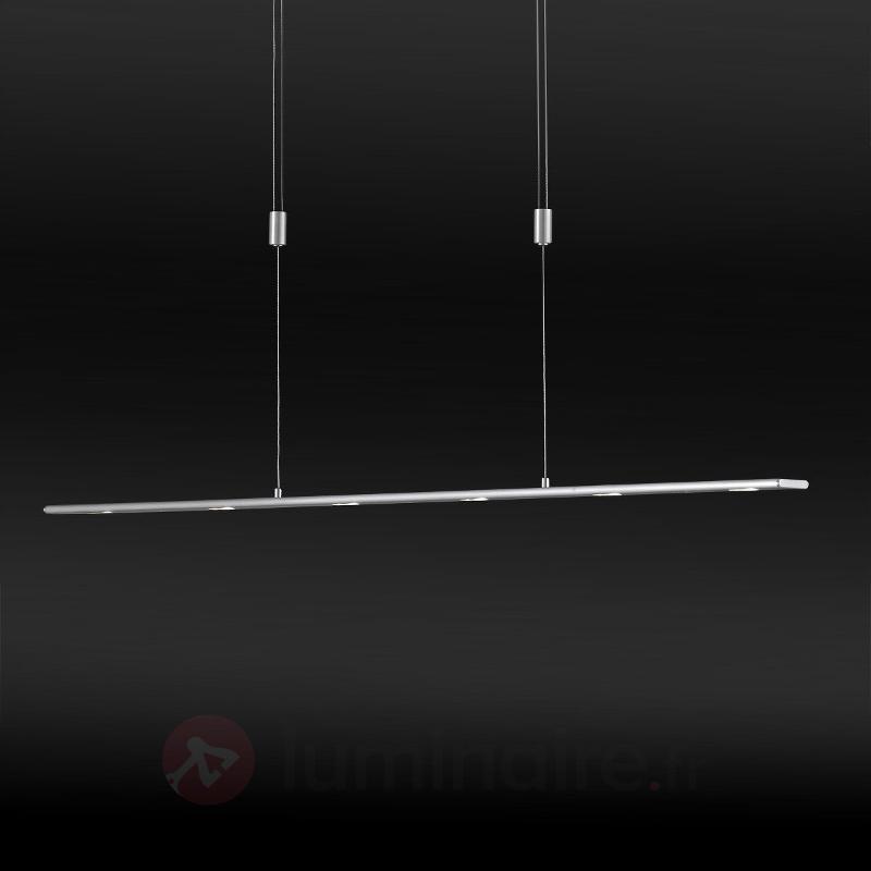 Suspension LED à huit lampes Vilde, 160 cm - Suspensions LED