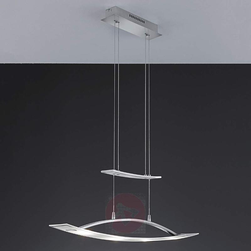 Valon height-adjustable LED pendant light - Pendant Lighting