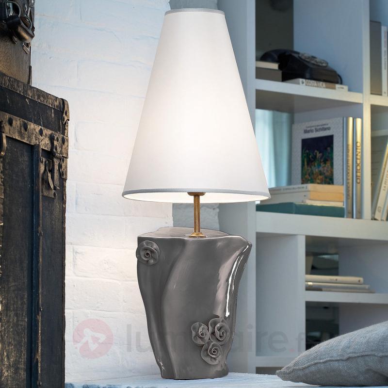 Lampe à poser décorée Beatrice - Lampes à poser en tissu