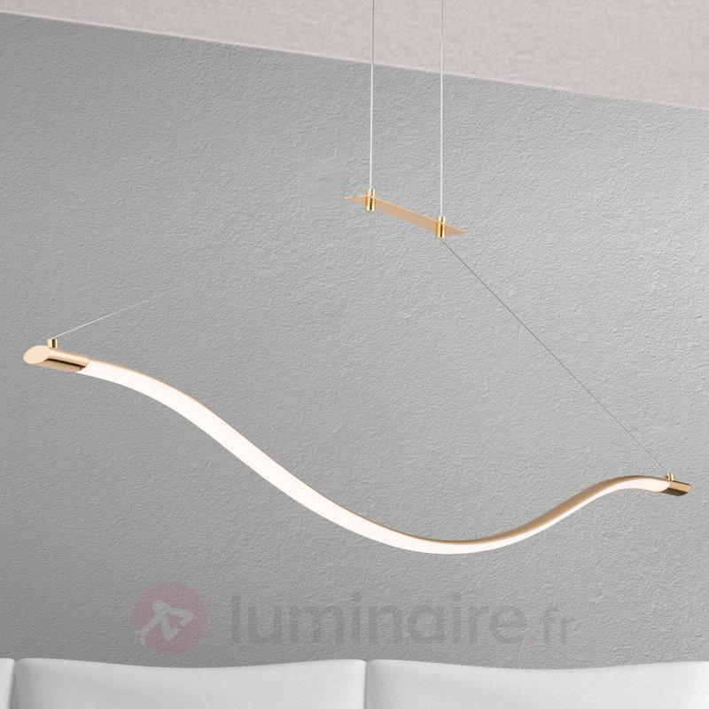 Suspension LED dorée Alen - Suspensions LED