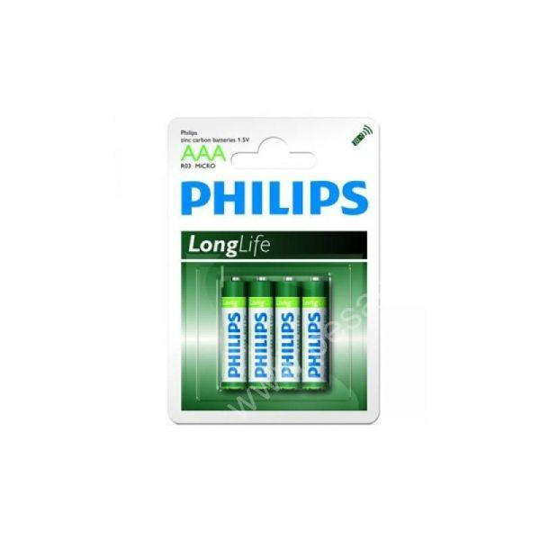 Piles LR03 PHILIPS AAA - Consommables