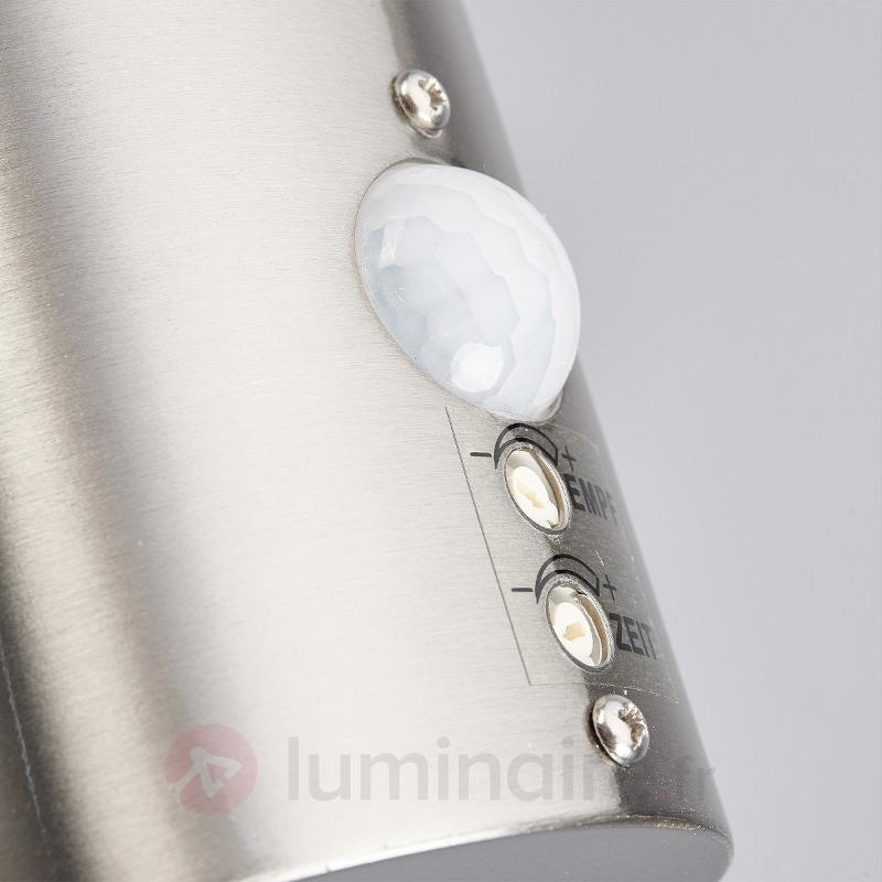 Applique d'extérieur LED Lanea à détecteur de mvt - Appliques d'extérieur LED