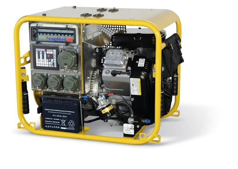 Generators for Fire & Rescue - ESE 604 DBG DIN