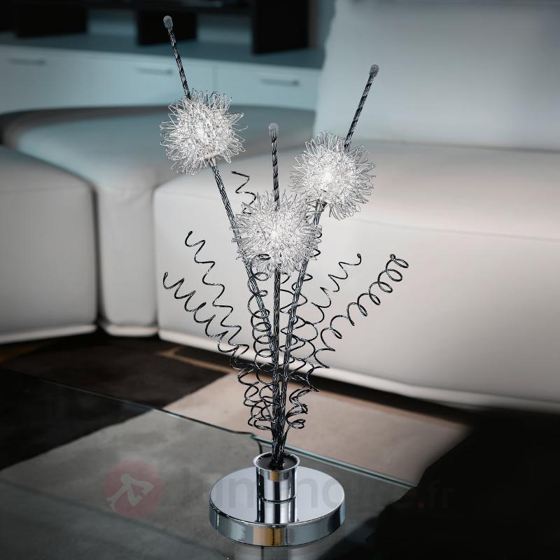 Lampe à poser Agliano de conception florale - Lampes à poser pour rebord de fenêtre