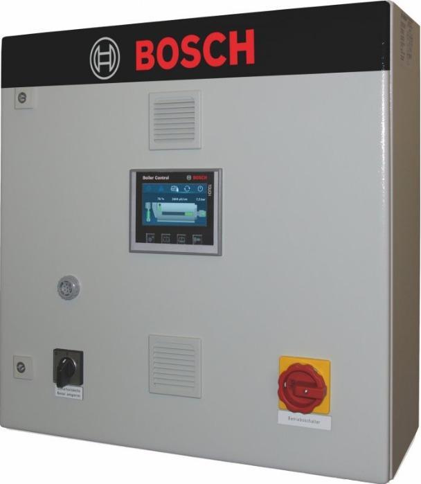 Bosch Compact steam boiler control CSC - Bosch Control for the smaller steam output range.