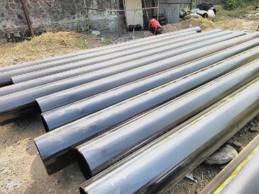 X56 PIPE IN GUINEA - Steel Pipe