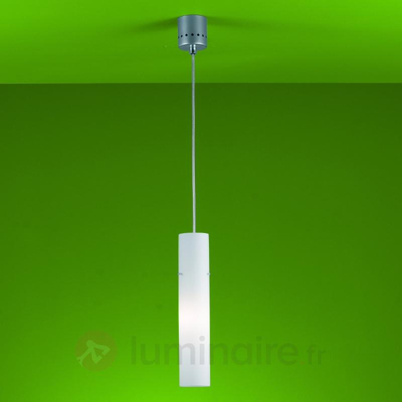 Fine suspension Adeline à 1 lampe - Suspensions en verre