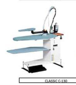 Table de repassage aspirante - chauffante avec chaudière intégrée CLASSIC C-130 - null