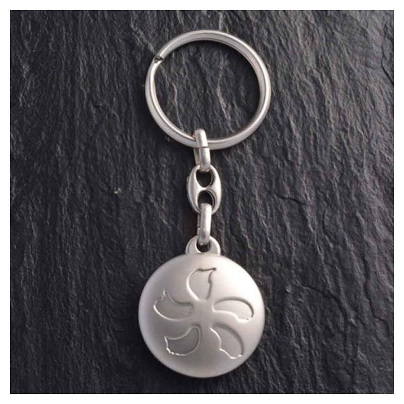 Porte-clés ZAMAC gravure - Porte-clés métal