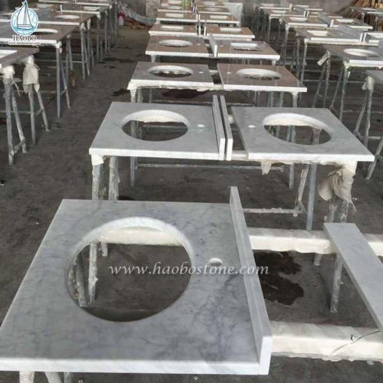 Carrara White Vanity Tops Countertops Table Tops - Counter Tops Vanity Tops